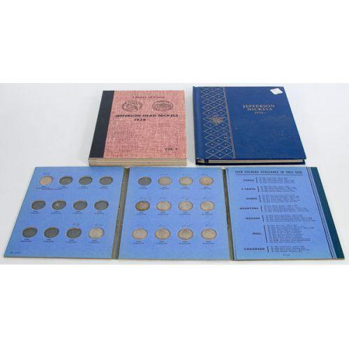Liberty & Jefferson Nickel Books (3 Books)