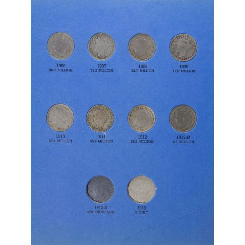 Liberty Nickel Book