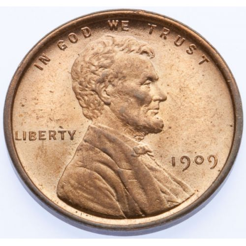 1909 VDB Lincoln Cents