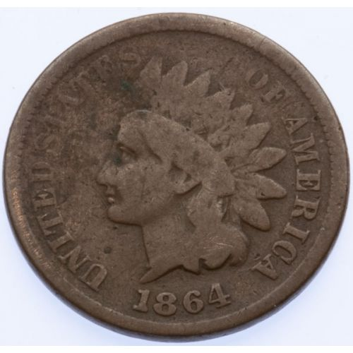 "1864 ""L"" Indian Head Cent"