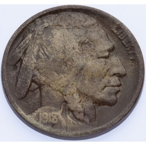 1918/7 Buffalo Nickel