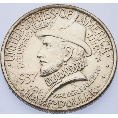 1937 Roanoke Half Dollar
