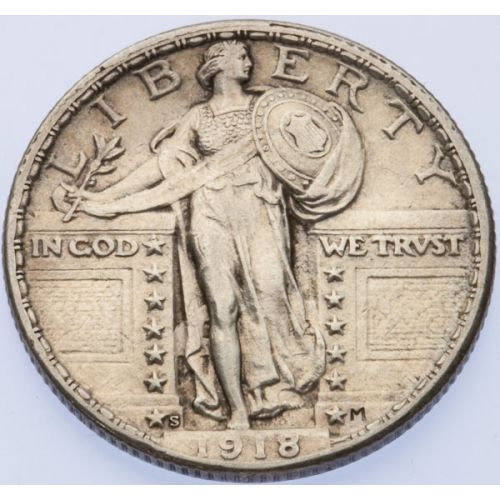 1918-S Standing Liberty Quarter