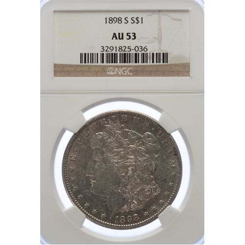 1898-S Morgan Dollar AU-53 (NGC)