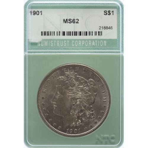 1901 Morgan Dollar MS-62 (NTC)