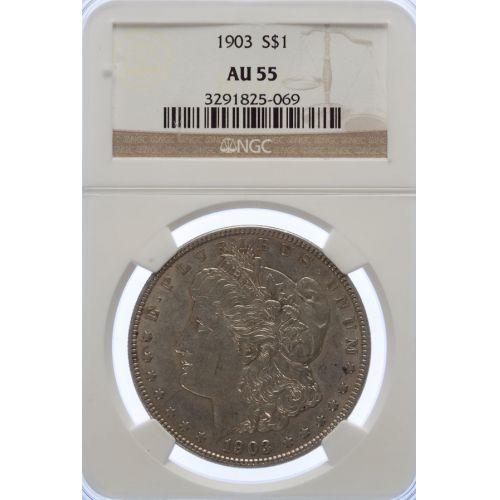 1903 Morgan Dollar AU-55 (NGC)