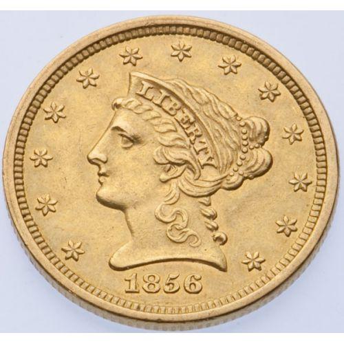 1856 $2 1/2 Gold
