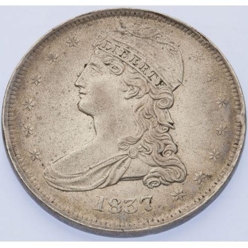 1837 Bust Half Dollar