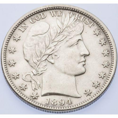 1894 Barber Half Dollar