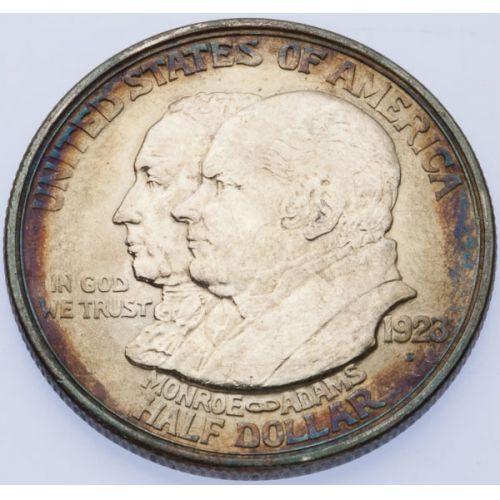 1923-S Monroe Half Dollar
