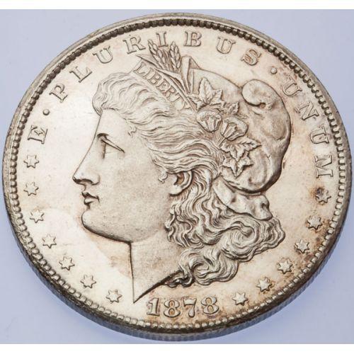 1878-CC Morgan Dollar