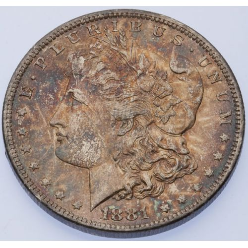 1881-O Morgan Dollar