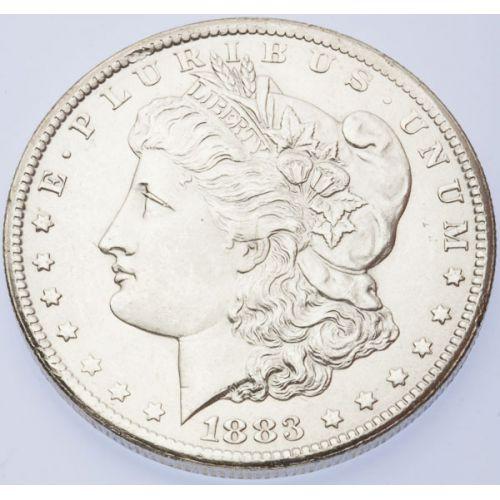 1883-CC Morgan Dollar