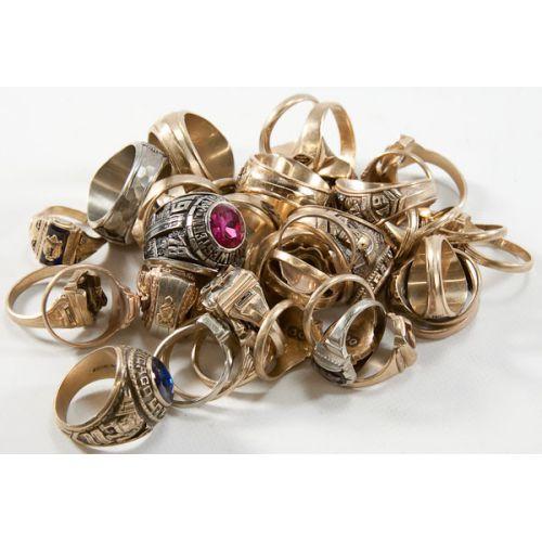 10k Gold Class Rings (38pcs.)