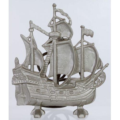 Cast Iron Three Masted Ship Lamp