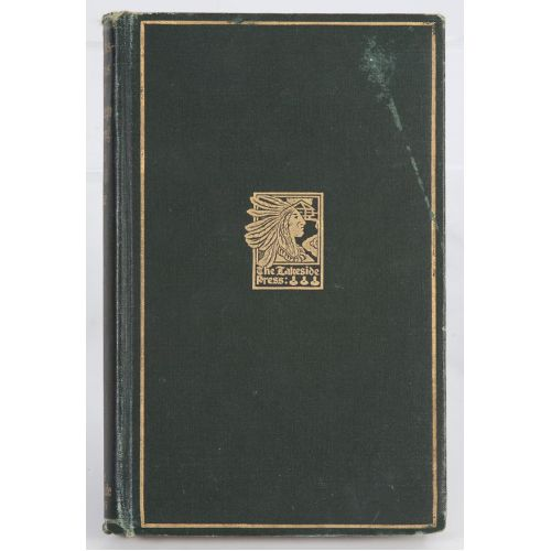 """1914 Lakeside Press """"Chicago During the Civil War"""" Book"""