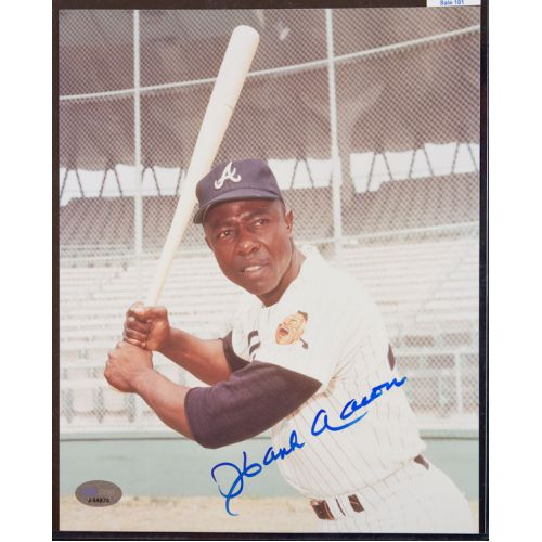 Hank Aaron (Atlanta Braves) Signed Photograph