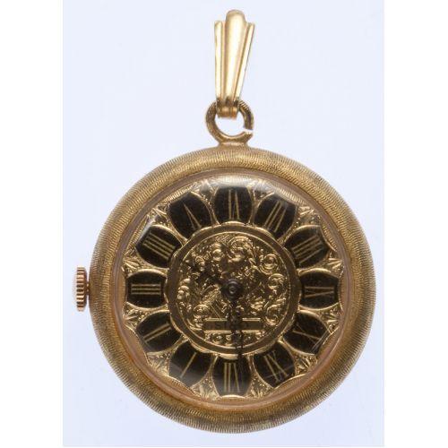 Oris Gold Pendant Watch