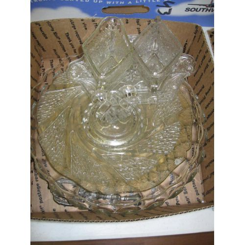 Glass Items with Trays