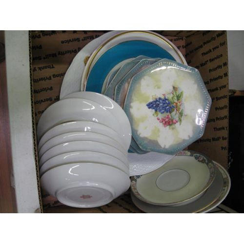 Decorative Plates and Saucers