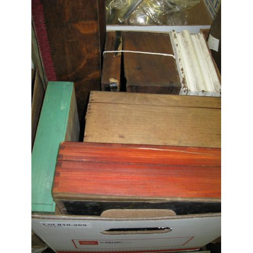 Wooden Boxes and More
