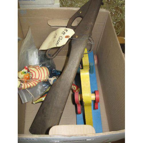 Wood Toys and BB Gun