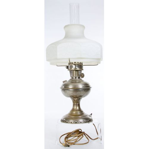Aladdin Converted Oil Lamp