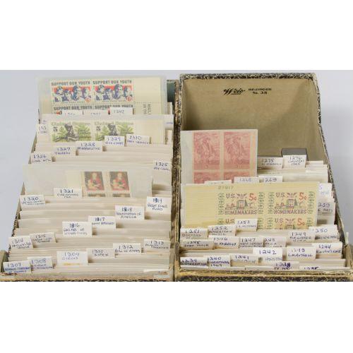 US Stamp Assortment NH