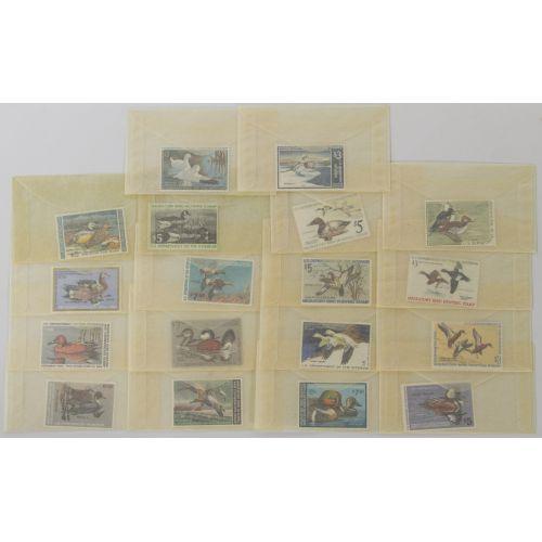 Migratory Bird Hunting Stamps MNH