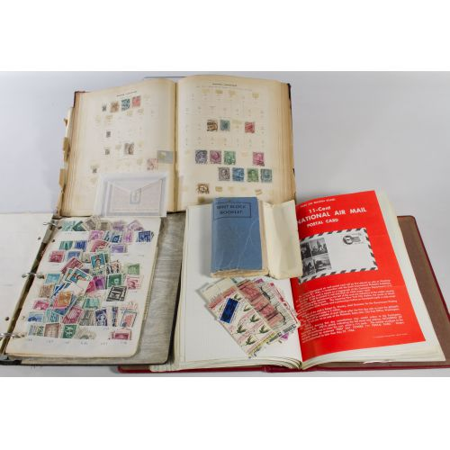 Partial Albums of Stamps and First Day Covers