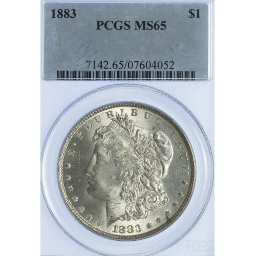 1883 $1 MS-65 PCGS