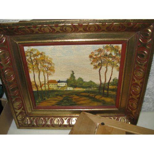 Framed Oil on Canvas Landscapes
