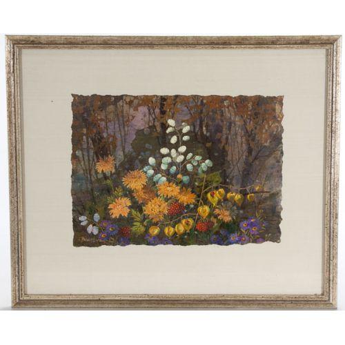 Robert Laessig (American, b.1913) Watercolor & Gouache