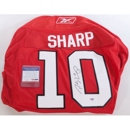 Chicago Blackhawks Signed Patrick Sharp Official Reebok NHL Jersey