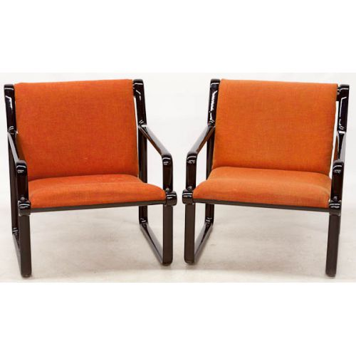 Knoll Chairs (2pcs) by Bruce Hannah & Andrew Morrison