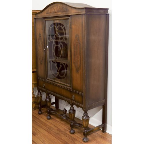 China Cabinet with Shelves & Drawer