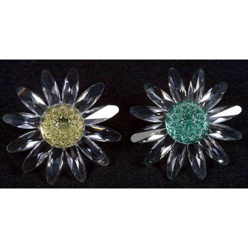 Swarovski Crystal Renewal Anniversary Marguerite Flowers (2pcs)