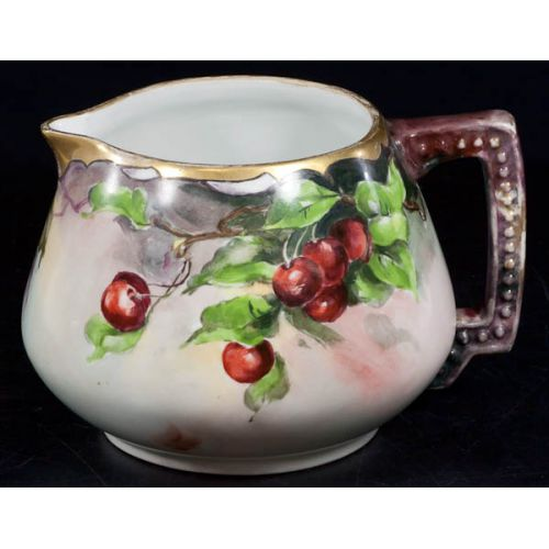 Jaeger & Co Hand Painted Cider Pitcher