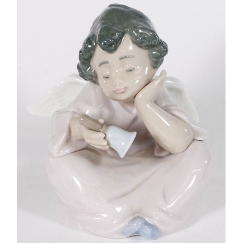 "Lladro #5723 ""Heavenly Chimes"" Glazed Retired"