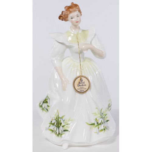 """Royal Doulton HN 2697 """"January"""" Figure of the Month"""