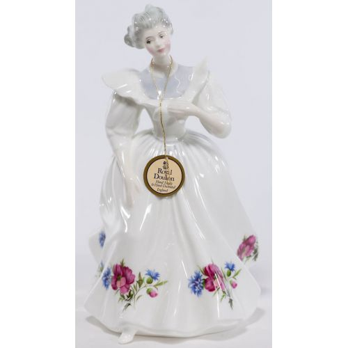 """Royal Doulton HN 3165 """"August"""" Figure of the Month"""