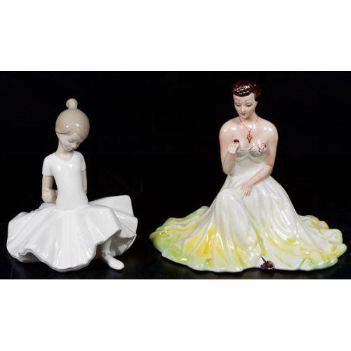 ZS Lady with Ladybug & Nao Ballerina