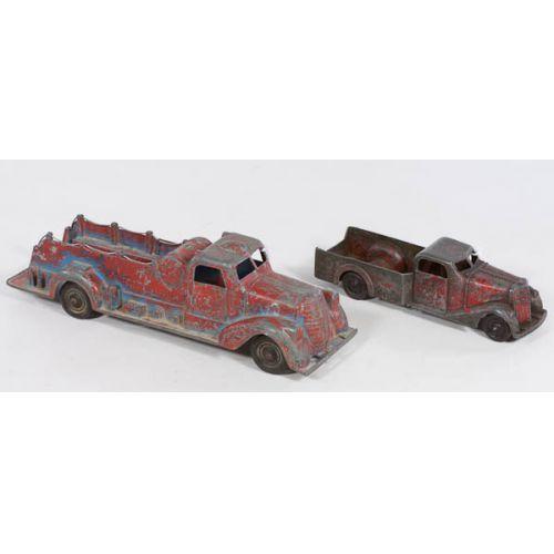Metal Master Toy Fire Trucks