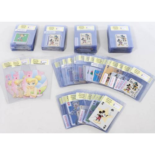 Collection of Individual Disney Playing Cards & Game Pieces