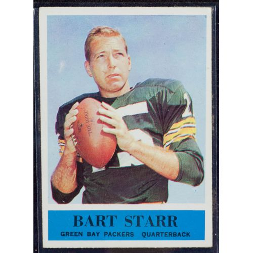 1964 Bart Starr Philadelphia Eagles Football Card #79