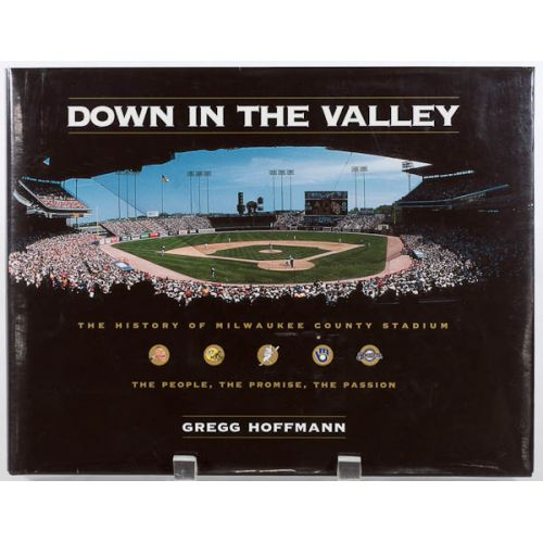 "Hank Aaron Signed Book ""Down In The Valley"" with JSA Certification"