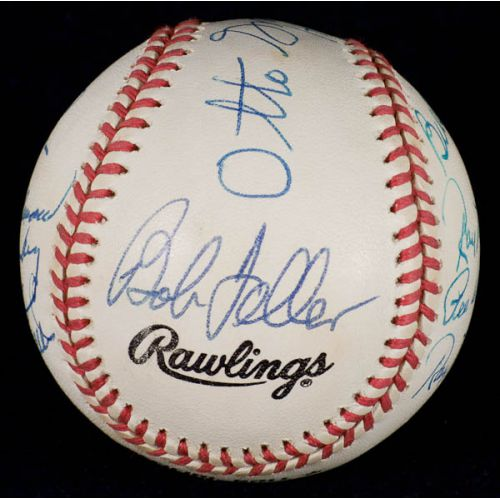 Football & Baseball Stars Signed Official NL William White Baseball with JSA Authentication