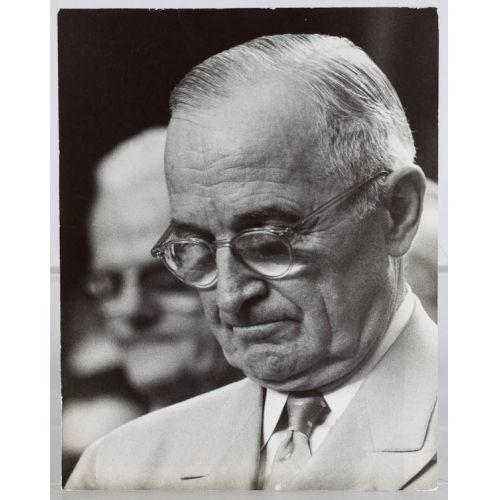 Harry Truman Thick Arthur Rickerby Photo