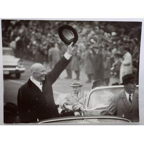 Dwight D. Eisenhower Photo By Arthur B. Rickerby