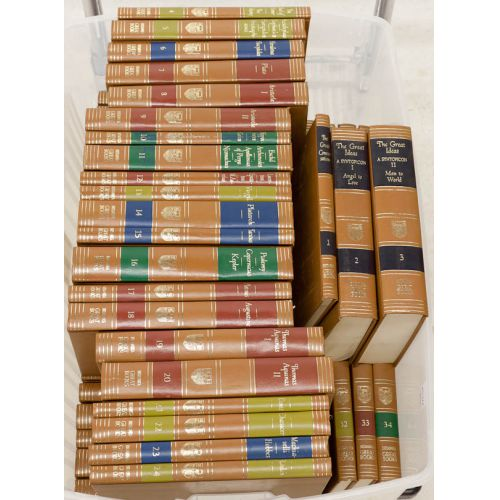Britannica Great Books of the Western World Complete 54 Volume Set 1952 Edition
